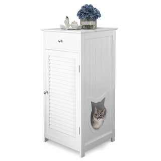 Link to Penn Plax Cat Walk Litter Box Enclosure & Pet House Similar Items in Cat Furniture