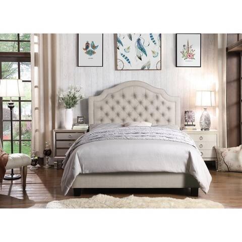 Rosevera Chigwater Tufted Upholstered Standard Bed Size - King