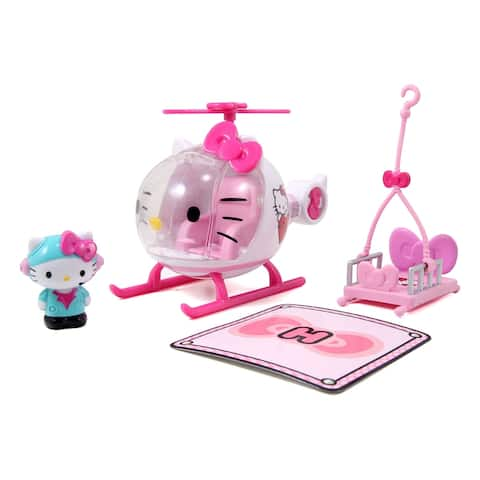 Hello Kitty Emergency Helicopter - Pink