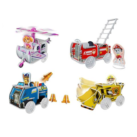 Build a Story Paw Patrol Rescue Vehicles