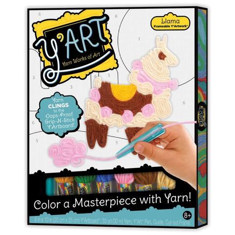 Kahootz Y'Art Craft Kit, Llama