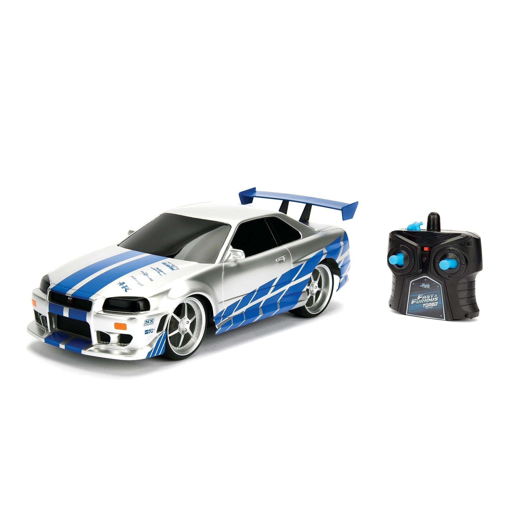 Fast Furious 1 16 Nissan Skyline Gtr R34 Rc Overstock 29477930