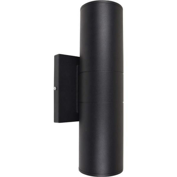 2 Light LED Large Up/Down Sconce in Black (As Is Item)
