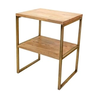 "Libernath Accent Table with Shelf - 20"" x 16"" x 25""H"