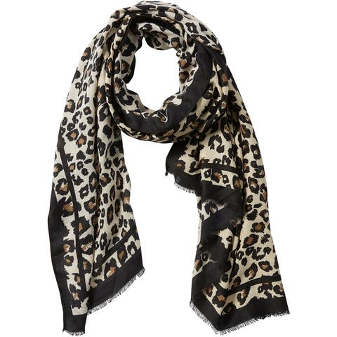 Tickled Pink Deb Leopard Scarf