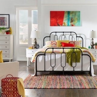 Link to Adams Metal Bed by iNSPIRE Q Classic Similar Items in Bedroom Furniture