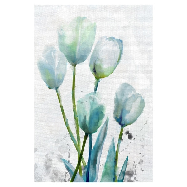 Tulip Gethering II by Studio Arts Wrapped Canvas Art Print - 24x36