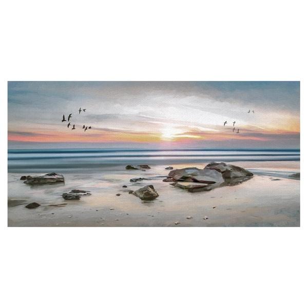 Sunset Flight by Studio Arts Wrapped Canvas Art Print
