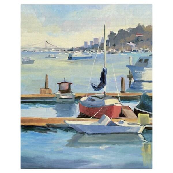 Sausalito by Kay Carlson Wrapped Canvas Art Print