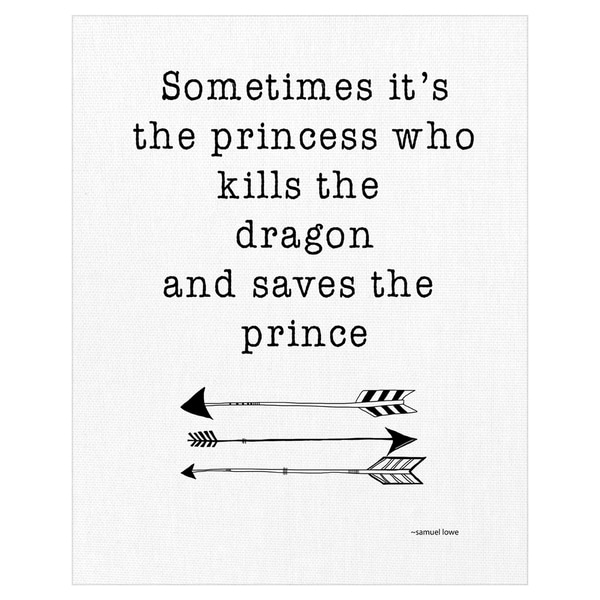 Sometimes It's the Princes by Jan Weiss Wrapped Canvas Art Print