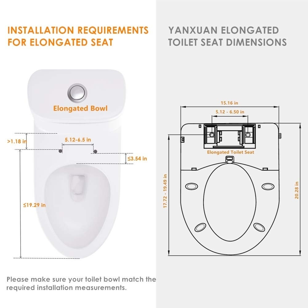 Stupendous Bidet Toilet Seat Temp Controlled Wash Warm Air Dry Elongated Onthecornerstone Fun Painted Chair Ideas Images Onthecornerstoneorg