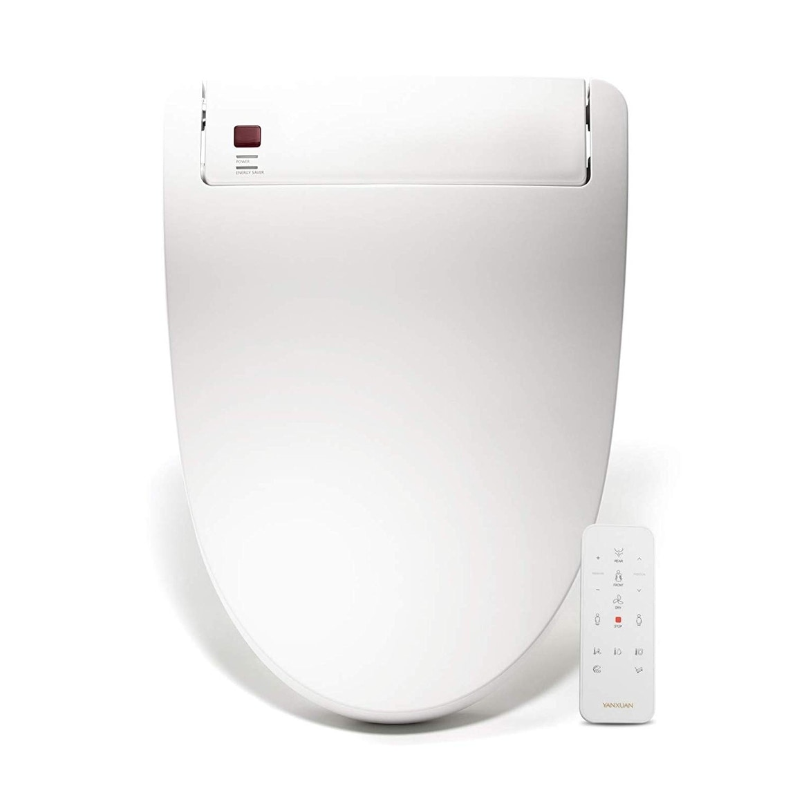 Fabulous Bidet Toilet Seat Temp Controlled Wash Warm Air Dry Elongated Alphanode Cool Chair Designs And Ideas Alphanodeonline