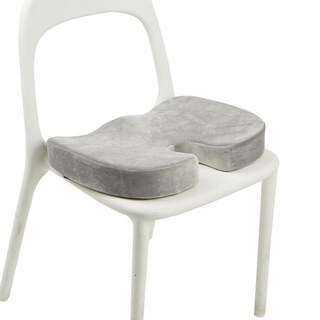 Link to Mind Reader Memory Foam Seat Cushion, Orthopedic Cushion, Gray Similar Items in Medical Supplies