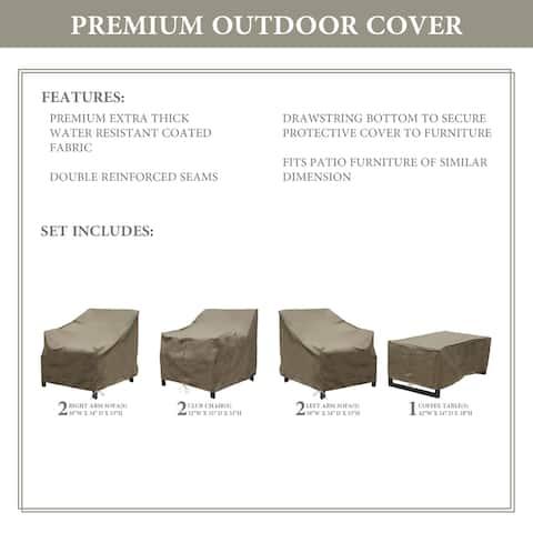kathy ireland Homes & Gardens MADISON-07e Protective Cover Set