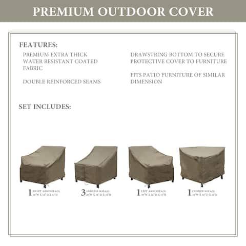 kathy ireland Homes & Gardens MADISON-06v Protective Cover Set