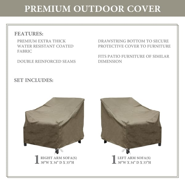 kathy ireland Homes & Gardens MADISON-02a Protective Cover Set. Opens flyout.