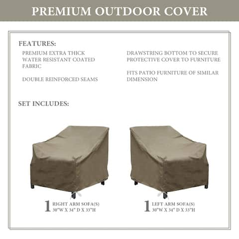 kathy ireland Homes & Gardens MADISON-02a Protective Cover Set