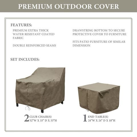 kathy ireland Homes & Gardens MADISON-03a Protective Cover Set