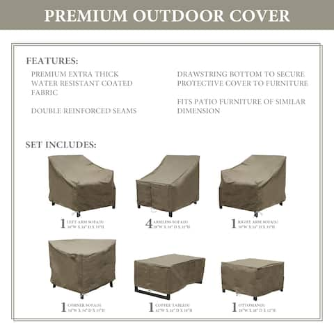 kathy ireland Homes & Gardens MADISON-09d Protective Cover Set