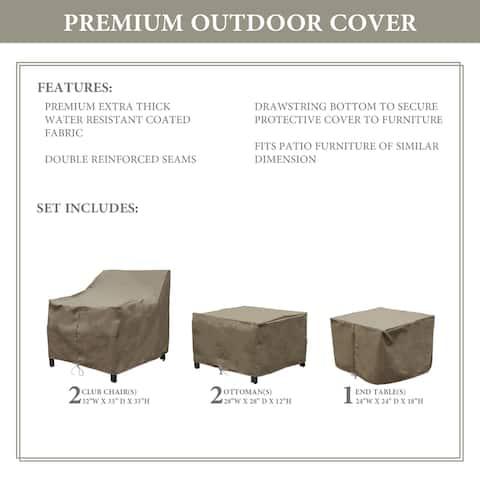 kathy ireland Homes & Gardens MADISON-05b Protective Cover Set