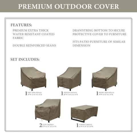 kathy ireland Homes & Gardens MADISON-06r Protective Cover Set