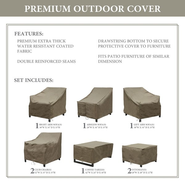 kathy ireland Homes & Gardens MADISON-08c Protective Cover Set. Opens flyout.