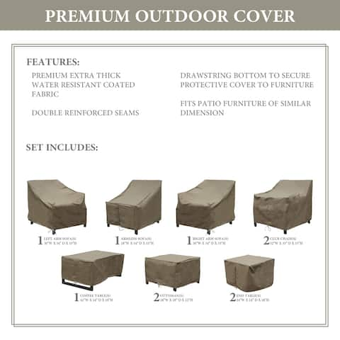 kathy ireland Homes & Gardens MADISON-10c Protective Cover Set