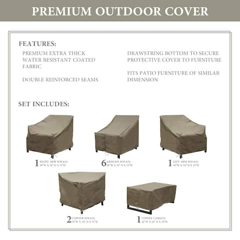 kathy ireland Homes & Gardens MADISON-11a Protective Cover Set