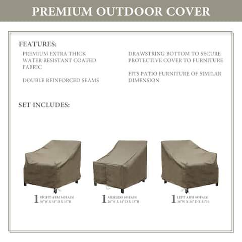 kathy ireland Homes & Gardens MADISON-03c Protective Cover Set