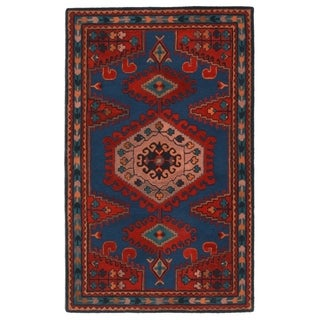 RugSmith Blue Yuma Southwest Transitional Area Rug