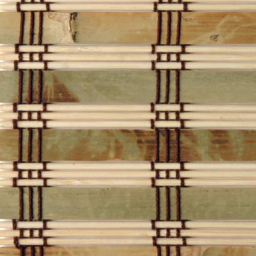 Rustique Bamboo Roman Shade (40 in. x 74 in.)