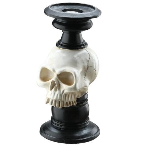 "10"" Skull Candelabra"