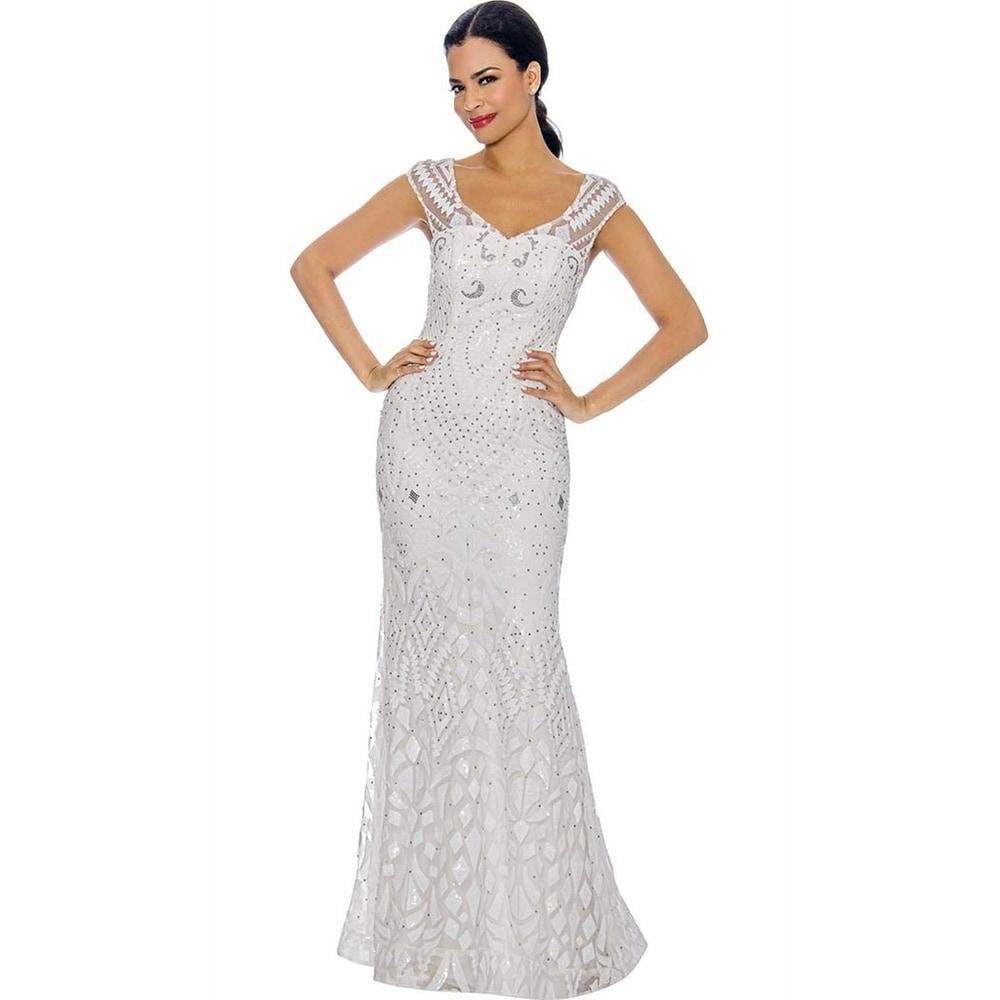 Annabelle Womens Elegant Formal Long Dress