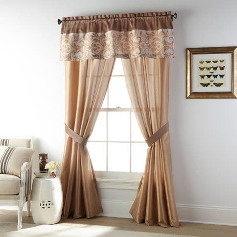 Grand Avenue Betty Grommet Light Filtering Curtain Panel