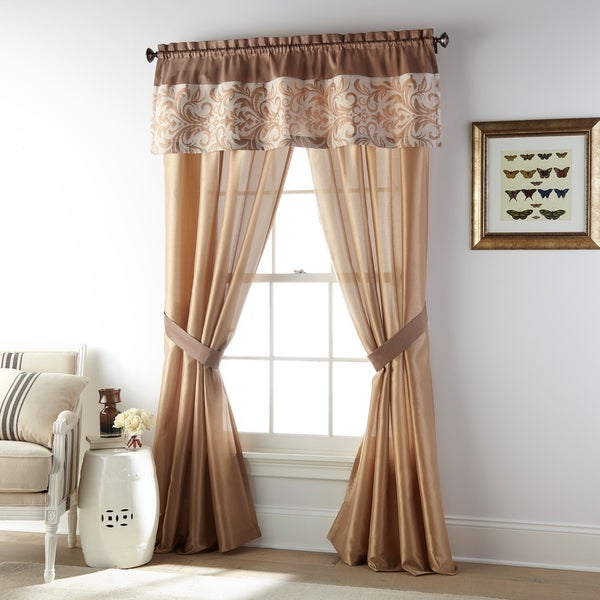 Grand Avenue Betty Grommet Light Filtering Curtain Panel. Opens flyout.
