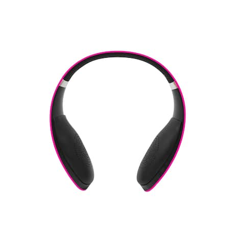 LeMe Bluetooth Wireless Headphones - Pink