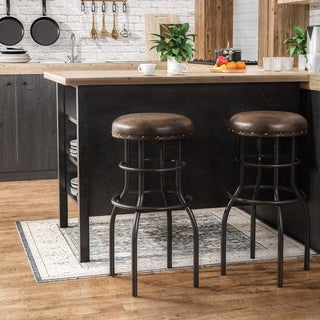 Alkali Rustic Counter Height Bar Stool by FOA