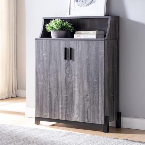Furniture of America Sost Contemporary 5-shelf Shoe Cabinet