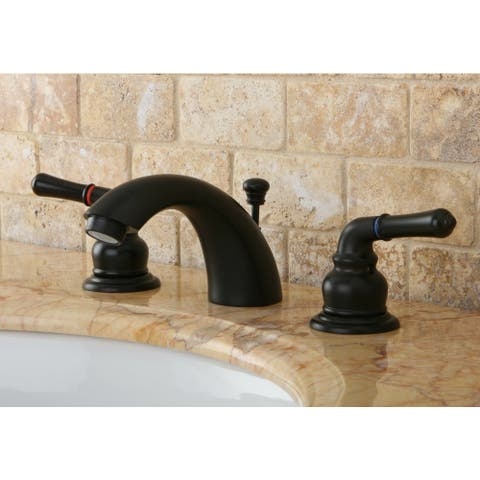 Magellan Dark Oil Rubbed Bronze Mini-widespread Bathroom Faucet