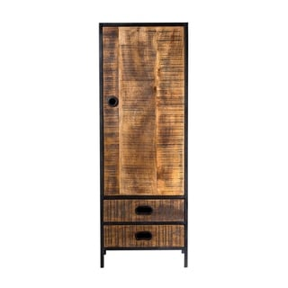 Milano 2 Drawer Single Tall Cabinet