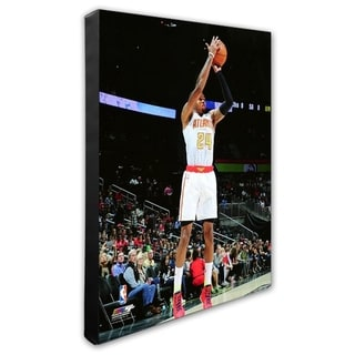 NBA Kent Bazemore 2015 16 Action Stretched Canvas Officially Licensed