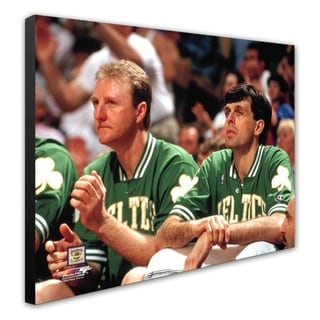 NBA Larry Bird Kevin McHale 2 Stretched Canvas Officially Licensed