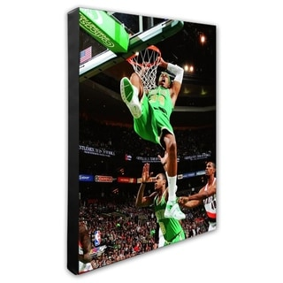 NBA Paul Pierce 2011 12 Action Stretched Canvas Officially Licensed