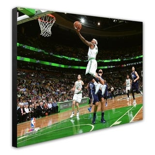 NBA Isaiah Thomas 2016 17 Action Stretched Canvas Officially Licensed