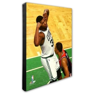 NBA Marcus Smart 2016 17 Playoff Action Stretched Canvas Officially Licensed