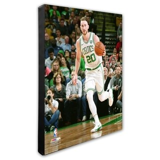 NBA Gordon Hayward 2017 18 Action Stretched Canvas Officially Licensed