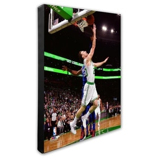 NBA Gordon Hayward 2018 19 Action Stretched Canvas Officially Licensed