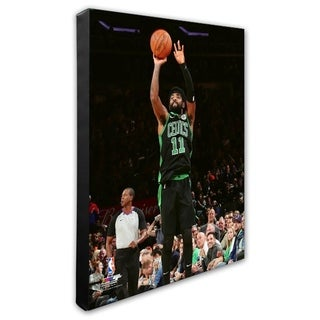NBA Kyrie Irving 2018 19 Action Stretched Canvas Officially Licensed