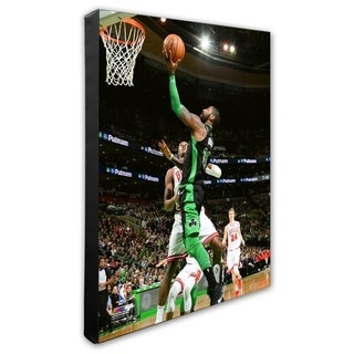 NBA Kyrie Irving 2017 18 Action Stretched Canvas Officially Licensed
