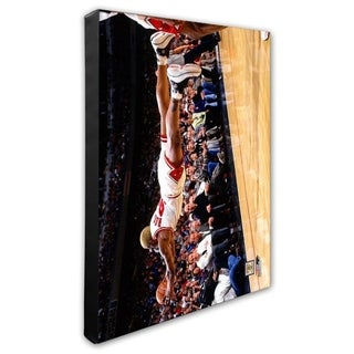 NBA Dennis Rodman Action Stretched Canvas Officially Licensed